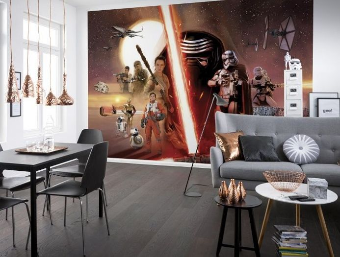 Star Wars giant paper wallpapers by Homewallmurals